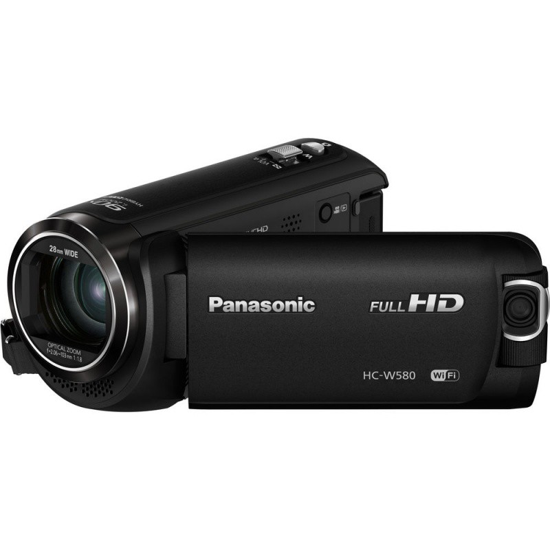 Купить - Panasonic Panasonic HC-W580 Full HD Camcorder / Twin Camera (HC-W580EE-K)