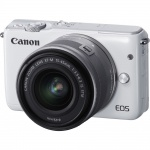 Фото - Canon Canon EOS M10 + EF-M 15-45mm IS STM (Kit) White + в подарок SDHC 32 Gb!!!