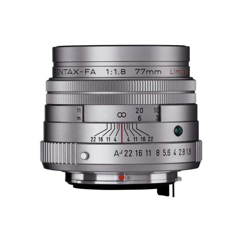 Купить - Pentax Pentax SMC FA 77mm f/1.8 Limited Silver (Официальная гарантия)