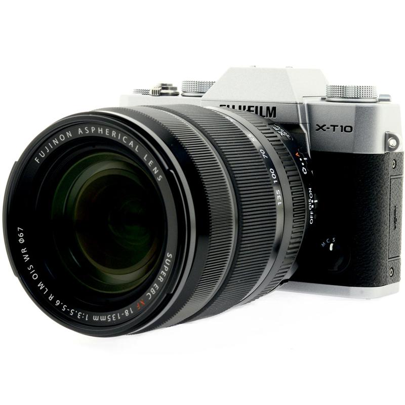 Купить - Fujifilm Fujifilm X-T10 + XF 18-135mm F3.5-5.6R Kit Silver (16498041)