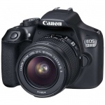 Фото - Canon Canon EOS 1300D + EF-S 18-55mm f/3.5-5.6 IS II (1160C036AA) Официальная гарантия + Ваучер в Irista 50GB