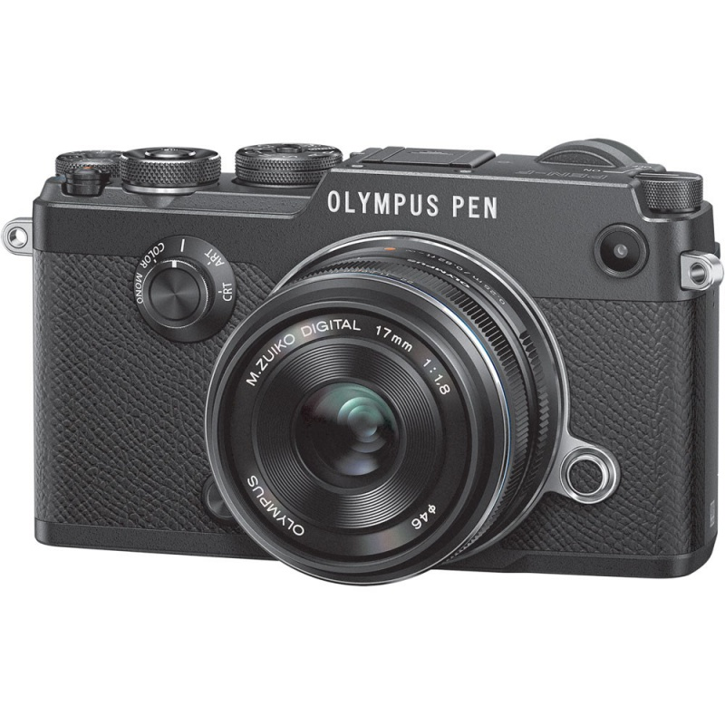 Купить - Olympus OLYMPUS PEN-F 17mm 1:1.8 Kit black/black