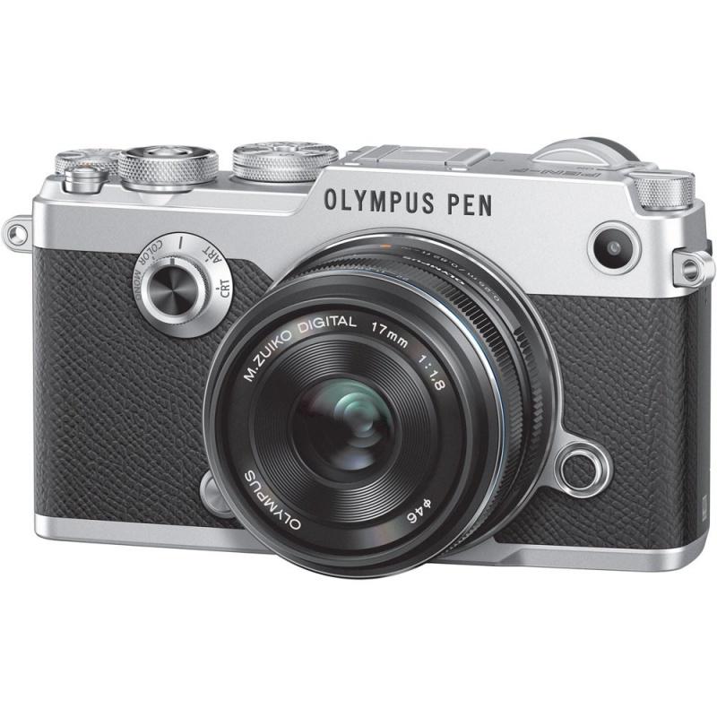 Купить - Olympus OLYMPUS PEN-F 17mm 1:1.8 Kit silver/black