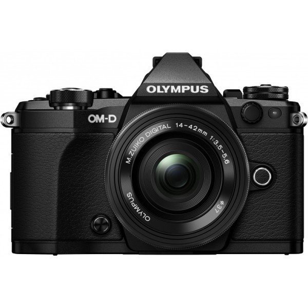 Купить - Olympus OLYMPUS E-M5 mark II Pancake Zoom 14-42mm Kit black/black (V207044BE000)