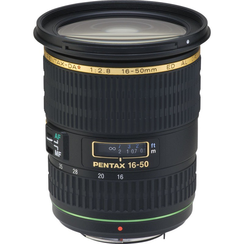 Купить - Pentax Pentax SMC DA* 16-50mm f/2.8 ED AL [IF] SDM (Официальная гарантия)
