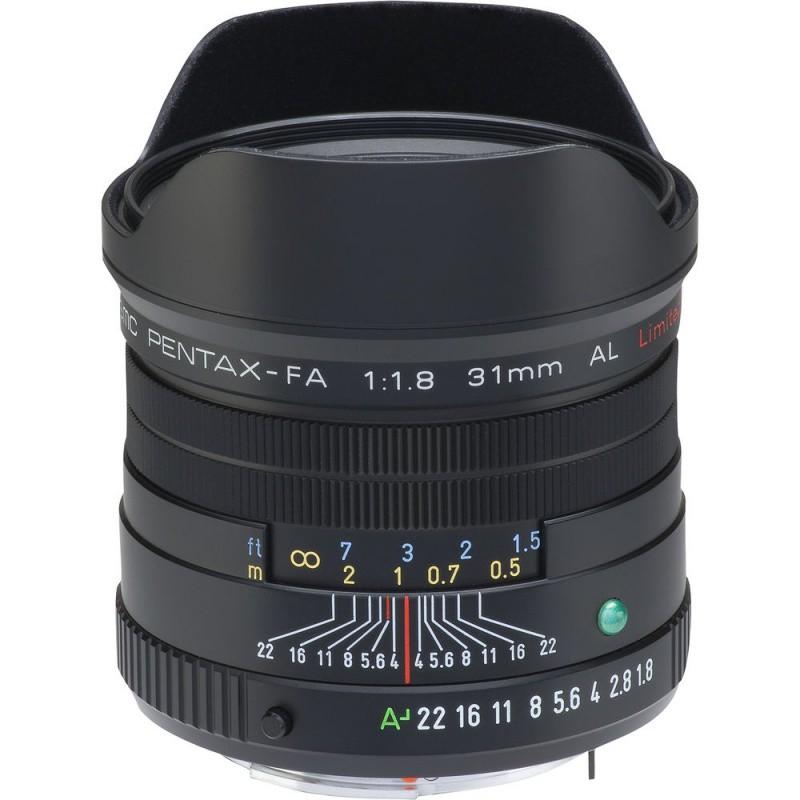 Купить - Pentax Pentax SMC FA 31mm f/1.8 AL Limited Black (Официальная гарантия)
