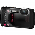 Фото - Olympus STYLUS TG-870 Black (Waterproof - 15m; Wi-Fi; GPS) (V104200BE000)
