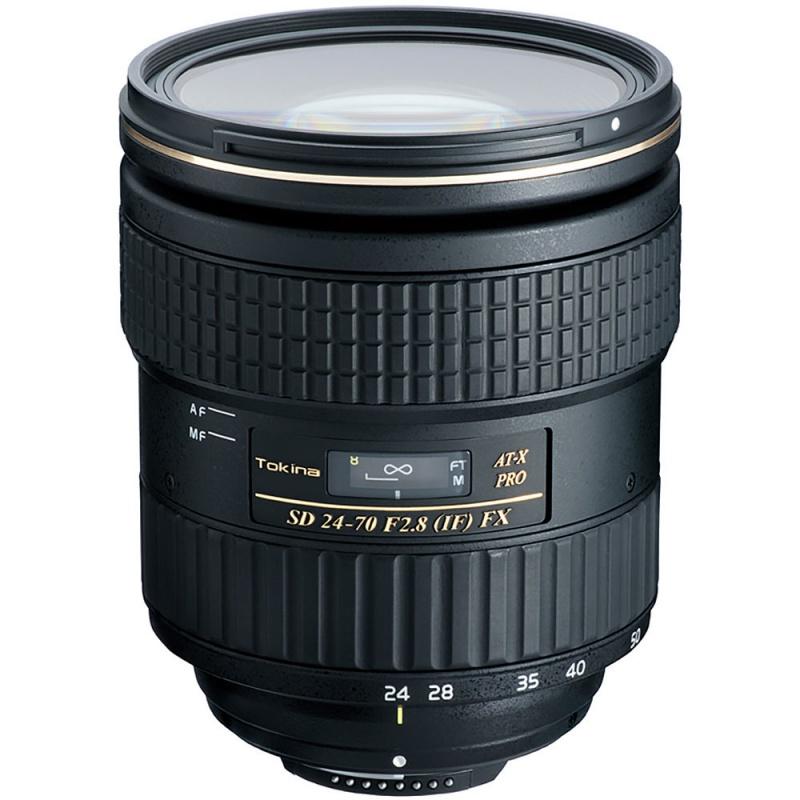 Купить - Tokina Tokina AT-X 24-70mm f/2.8 PRO FX (Nikon)