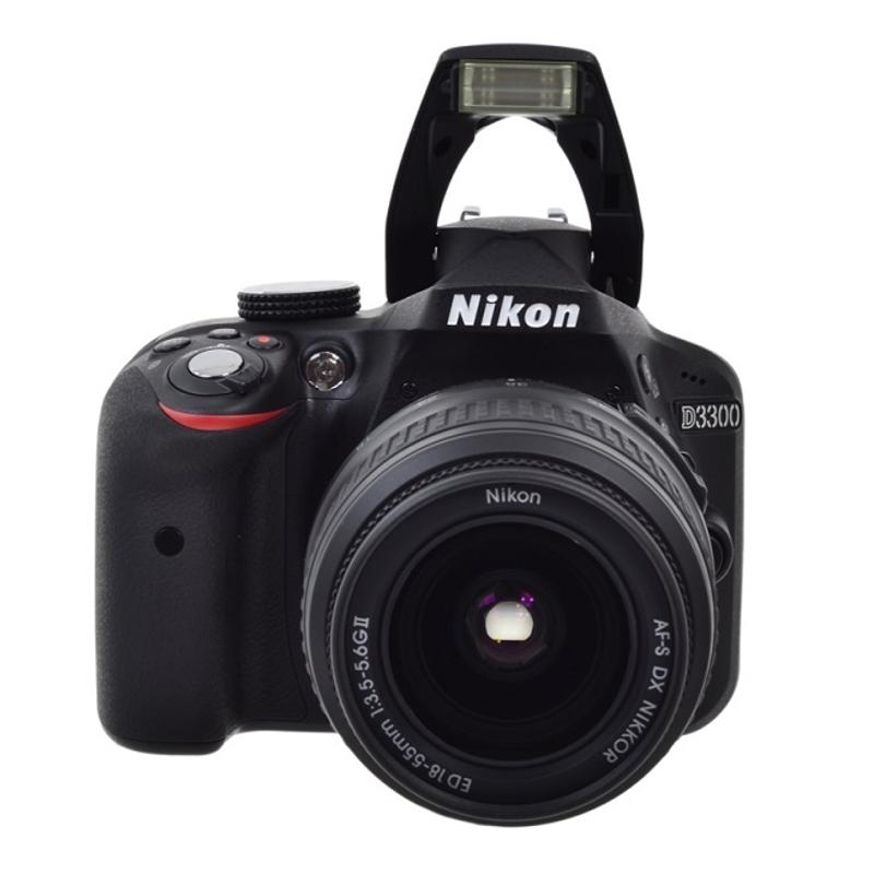Купить - Nikon Nikon D3300+18–55mm II Black KIT (VBA390K002)