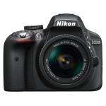 Фото Nikon Nikon D3300 + AF-P 18-55 II Black KIT (VBA390K010)
