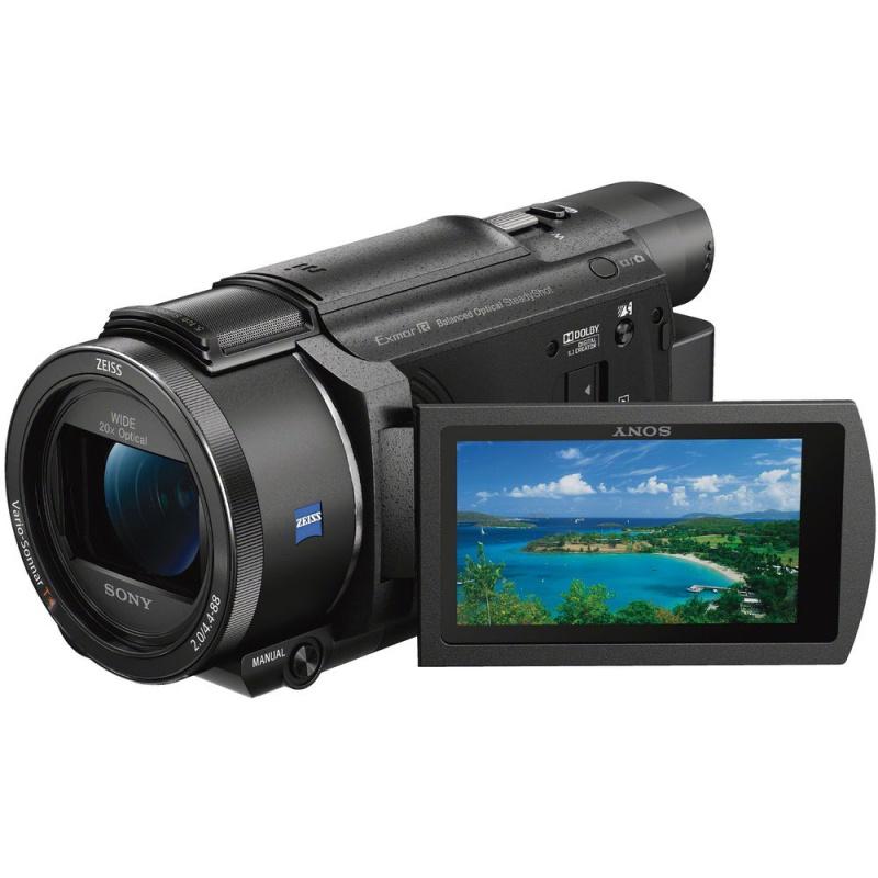 Купить - Sony Sony FDR-AX53 4K Ultra HD Handycam Camcorder Black (FDRAX53B.CEL)