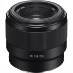 Фото - Sony Объектив Sony 50mm, f/1.8 для камер NEX FF (SEL50F18F.SYX)