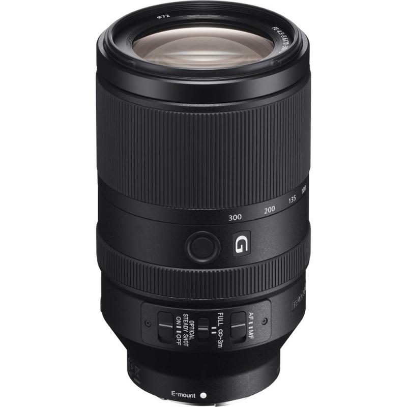 Купить - Sony Объектив Sony 70-300mm, f/4.5-5.6 G OSS для камер NEX FF (SEL70300G.SYX)