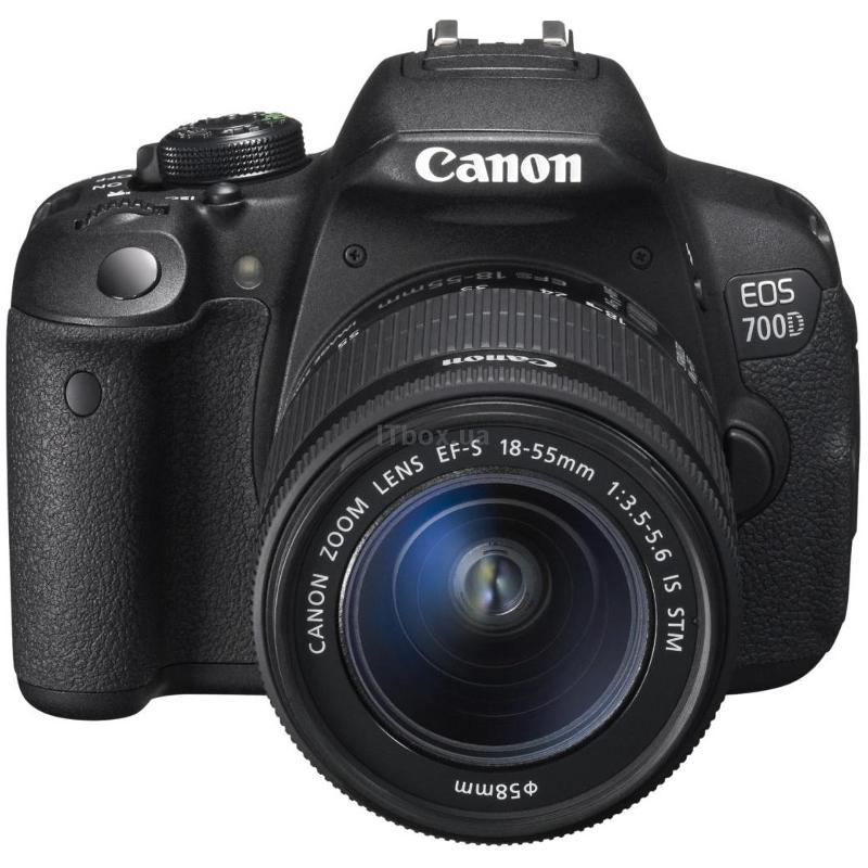 Купить - Canon  Canon EOS 700D + объектив 18-55 STM + объектив 55-250mm STM (8596B087)