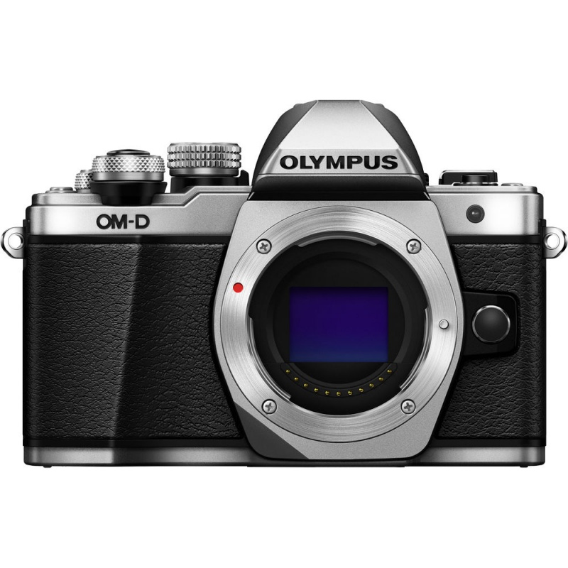 Купить - Olympus OLYMPUS E-M10 mark II Body серебристый (V207050SE000)