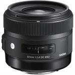 Фото - Sigma Sigma AF 30/1.4 EX DC HSM Art Nikon NEW (301955)
