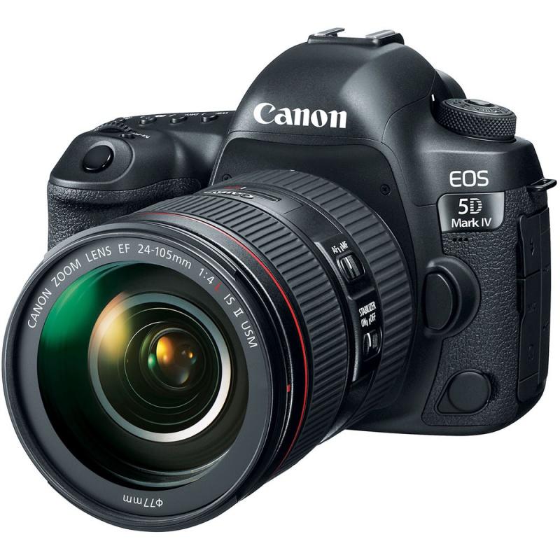 Купить - Canon Canon EOS 5D Mark IV kit EF 24-105 4L ІS ІІ (Официальная гарантия) + Ваучер в Irista 100GB