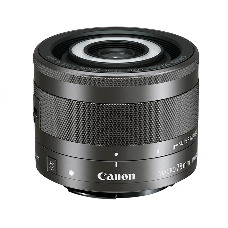 Купить - Canon Объектив Canon EF-M 28mm f/3.5 Macro STM (1362C005)