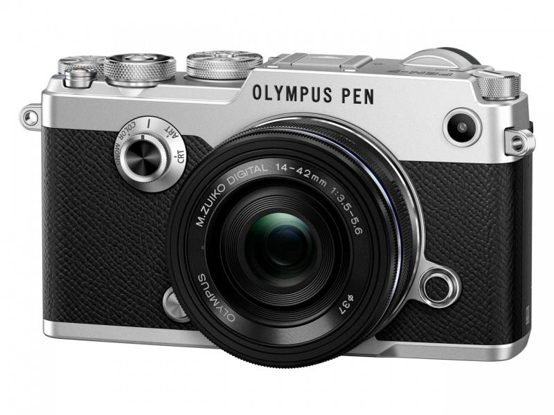 Купить - Olympus OLYMPUS PEN-F Pancake Zoom 14-42 Kit silver/black (V204061SE000)