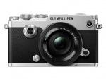 Фото Olympus OLYMPUS PEN-F Pancake Zoom 14-42 Kit silver/black (V204061SE000)