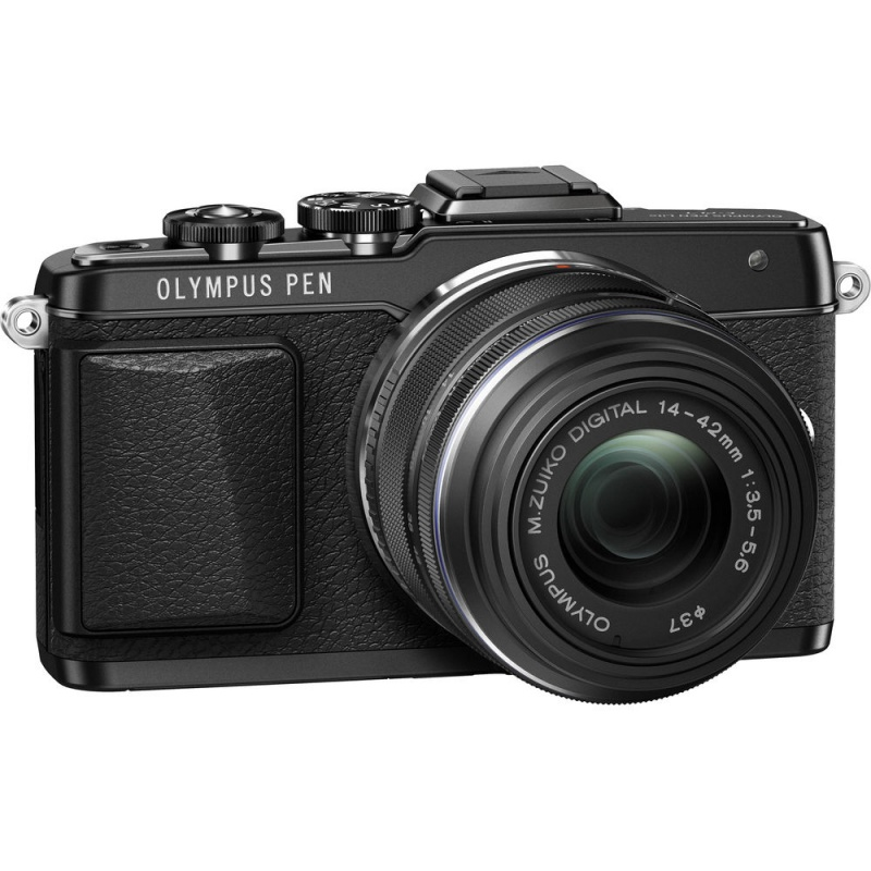 Купить - Olympus OLYMPUS E-PL7 KIT (14-42mm) BLACK/BLACK