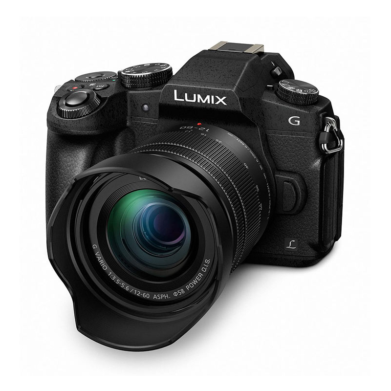 Купить - Panasonic Panasonic Lumix DMC-G80 Kit 12-60mm Black (DMC-G80MEE-K)
