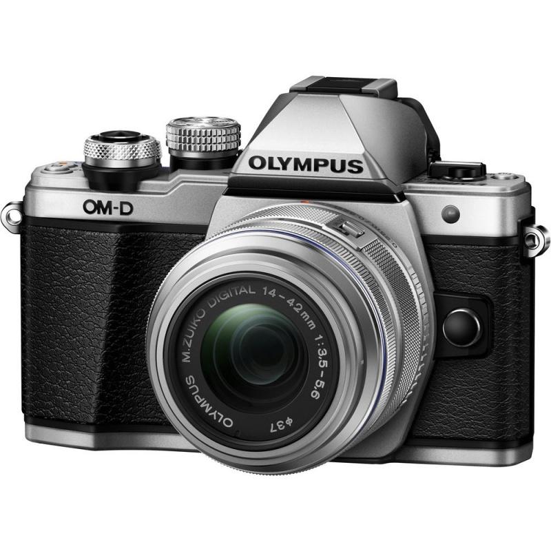 Купить - Olympus Olympus E-M10 mark II Pancake Double Zoom 14-42+40-150 Kit S/S/B (V207053SE000)