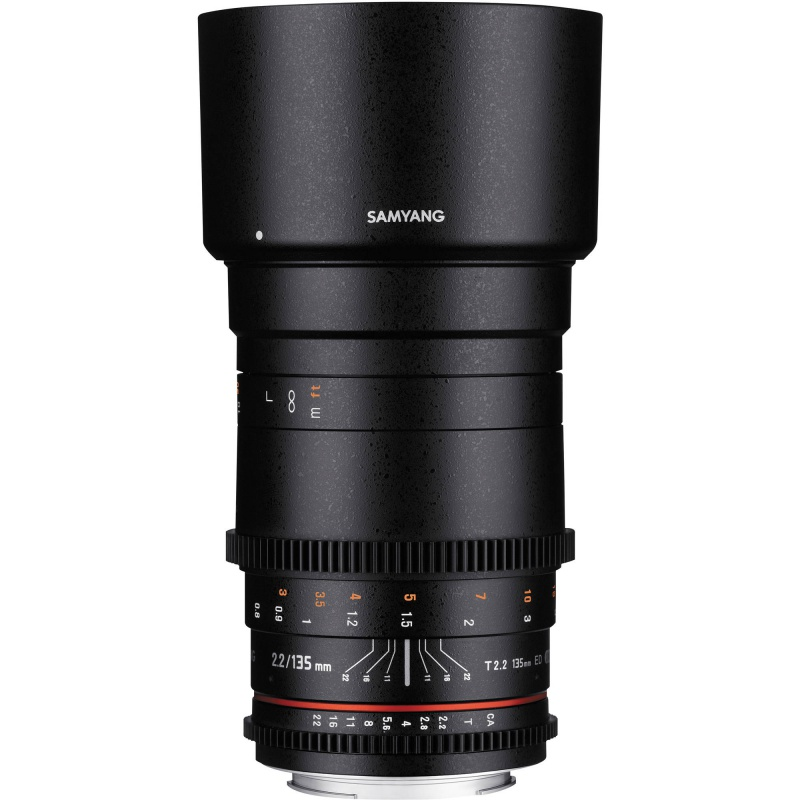 Купить - Samyang Samyang 135mm T/2.2 VDSLR ED UMC Canon EF
