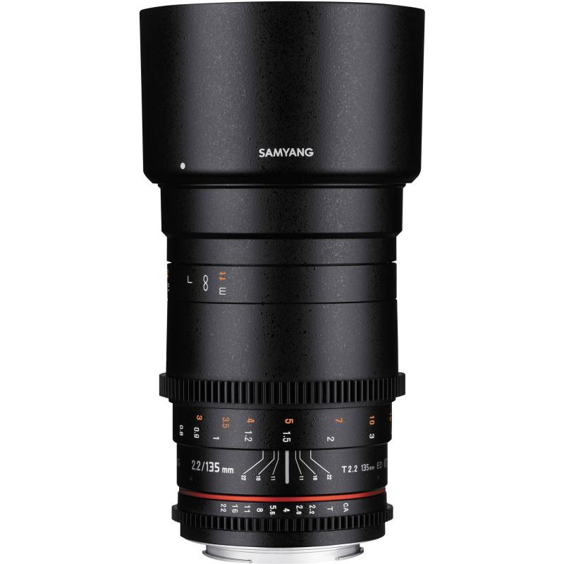 Купить - Samyang Samyang 135mm T/2.2 VDSLR ED UMC Nikon F