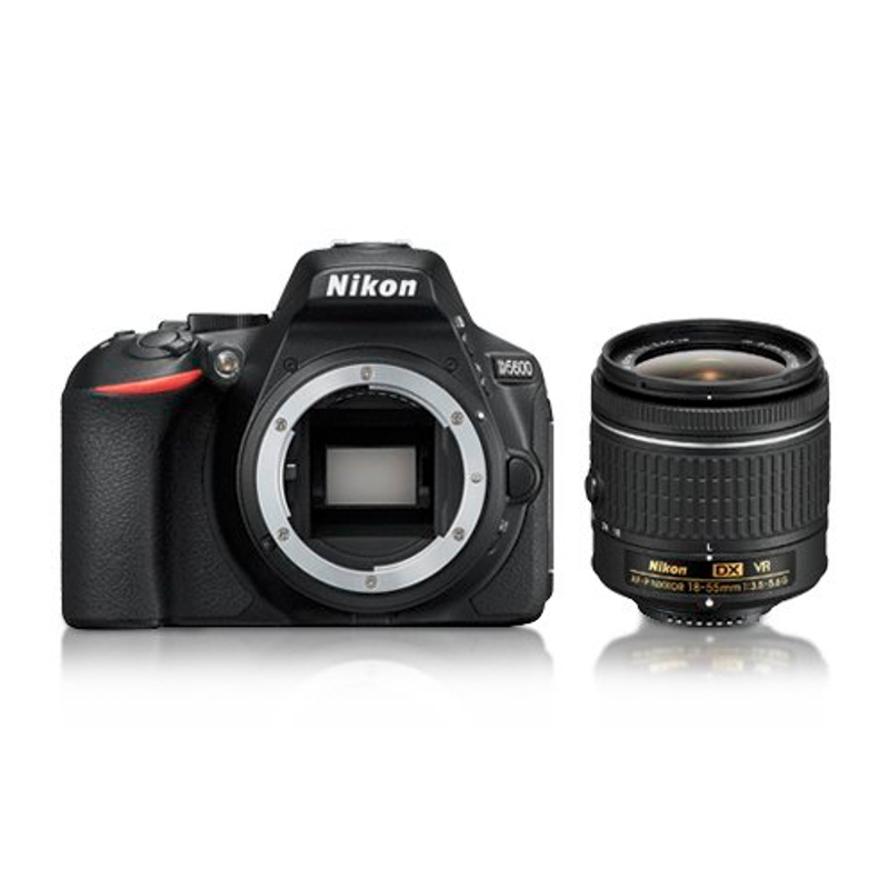Купить - Nikon Nikon D5600 + AF-P 18–55VR KIT  Официальная гарантия! (VBA500K001)