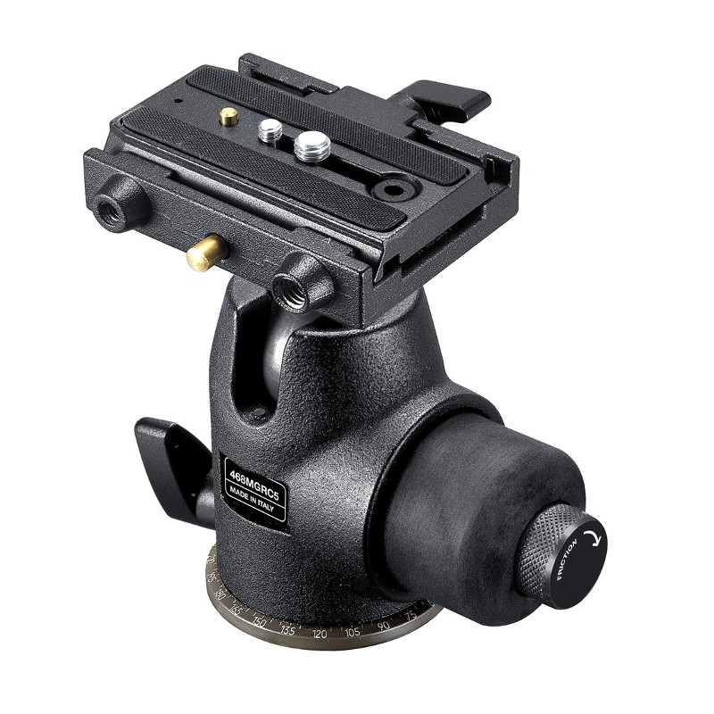 Купить - Manfrotto   MANFROTTO Головка 468MGRC5 HYDROSTATIC BALL HEAD (468MGRC5)