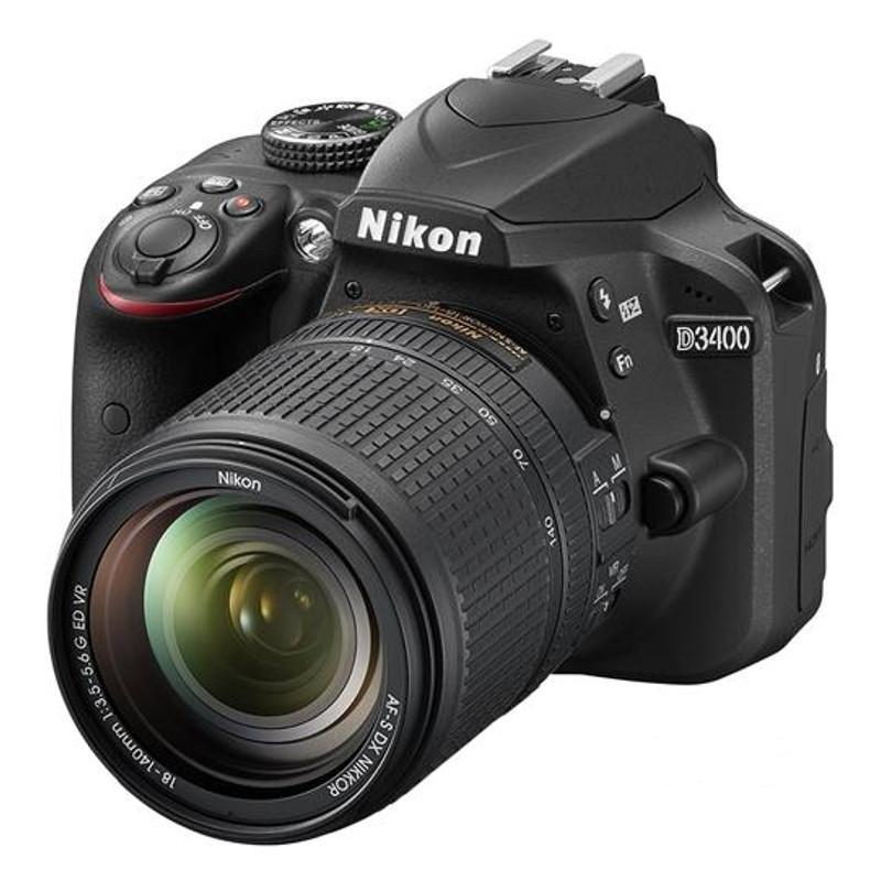 Купить - Nikon Nikon D3400 + AF-P 18-140 VR KIT (VBA490KV01)