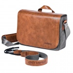 Фото - Olympus DIL/bag OLYMPUS OM-D Messenger Bag Leather + Strap (E0410225)