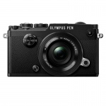 Фото - Olympus PEN-F Pancake Zoom 14-42 Kit black/black (V204061BE000)