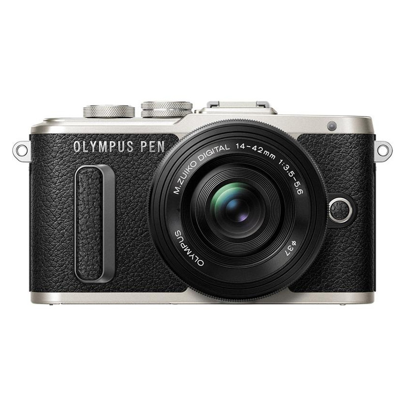 Купить - Olympus Olympus E-PL8 14-42mm Pancake Zoom Kit black/black (V205082BE000)
