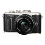 Фото Olympus Olympus E-PL8 14-42mm Pancake Zoom Kit black/black (V205082BE000)