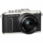 Фото Olympus Olympus E-PL8 14-42mm Pancake Zoom Kit black/black (V205082BE000)