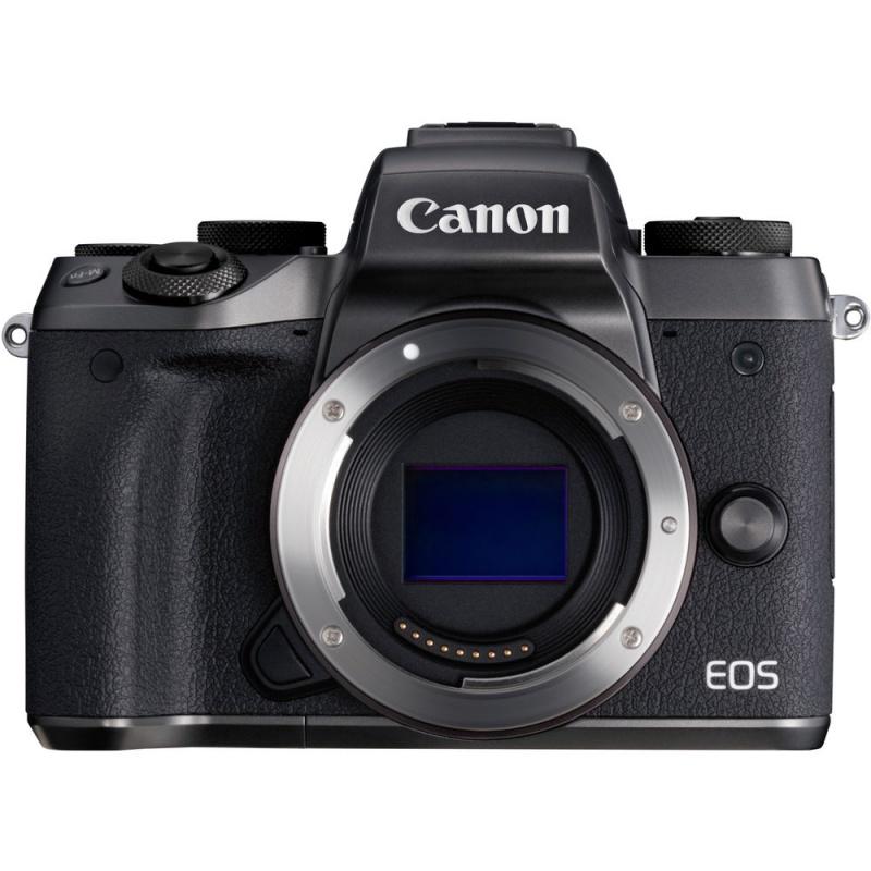 Купить - Canon Canon EOS M5 BODY RUK (1279C043AA) + переходник EOS M – EOS EF