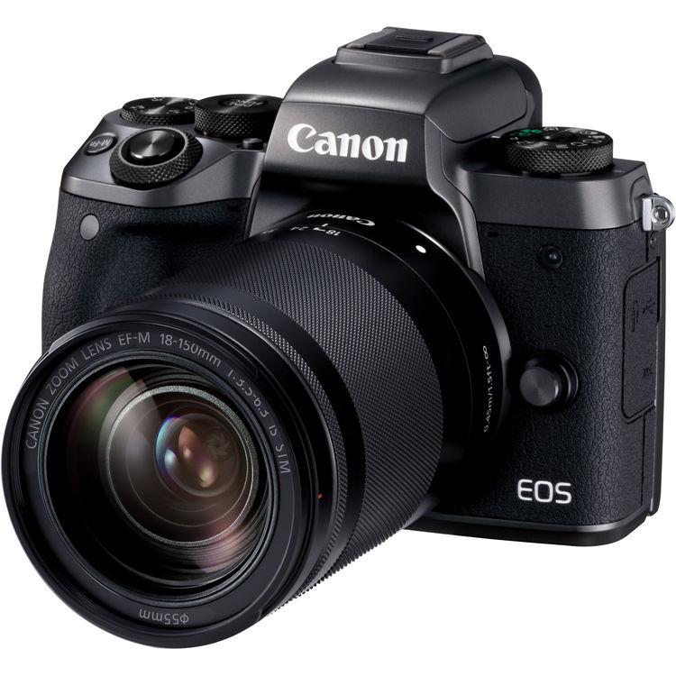 Купить - Canon Canon EOS M5 18-150 RUK + переходник EOS M – EOS EF !!!  (1279C049AA)