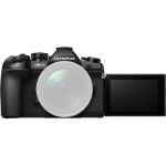 Фото Olympus Olympus E-M1 mark II 12-40 Kit black/black (V207061BE000)