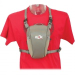 Фото - Clik Elite CLIK ELITE сумка для фото хольстер STANDARD SLR CHEST CARRIER GRAY (CE702GR)