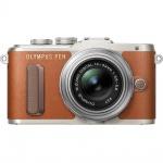 Фото - Olympus OLYMPUS E-PL8 14-42 mm Pancake Zoom Kit brown/silver