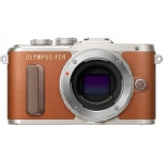 Фото Olympus OLYMPUS E-PL8 14-42 mm Pancake Zoom Kit brown/silver