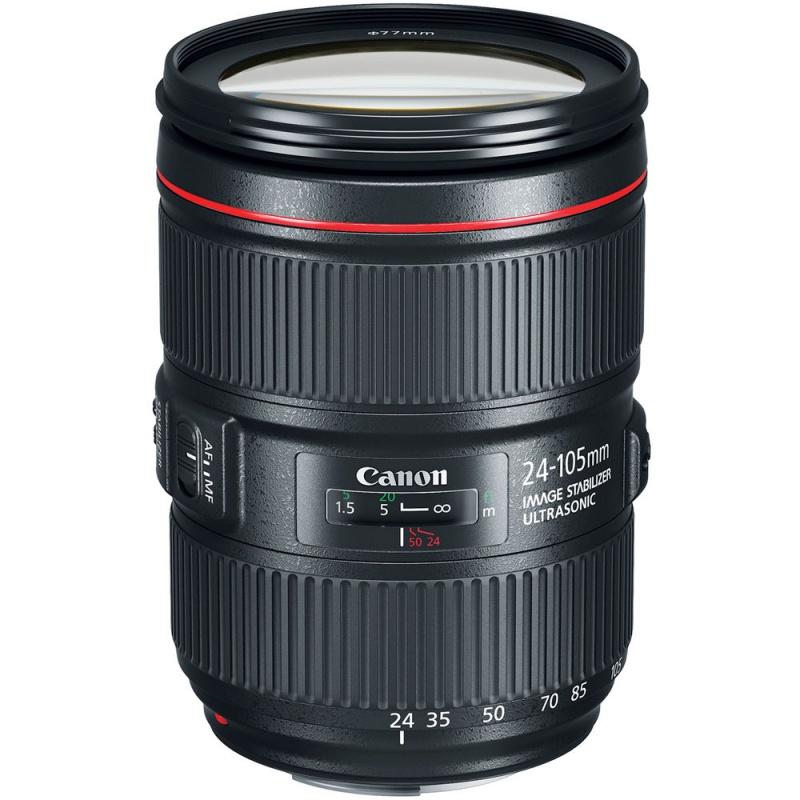 Купить - Canon Canon EF 24-105mm f/4L II IS USM (Официальная гарантия)