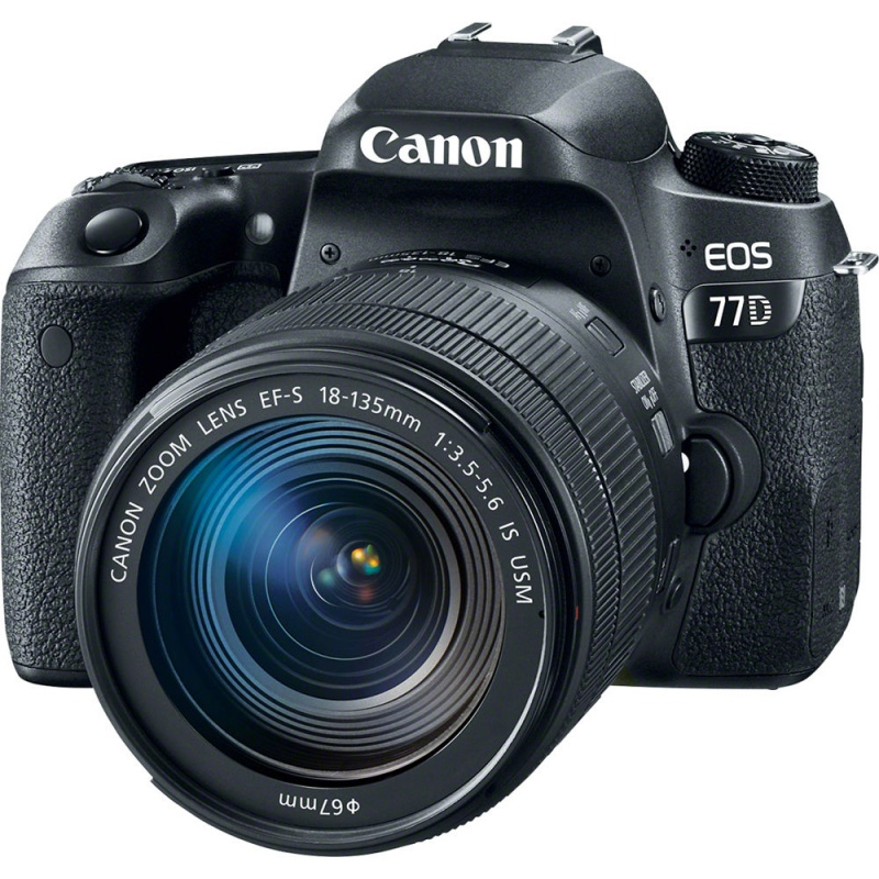 Купить - Canon Canon EOS 77D + EF-S 18-135mm IS nano USM Kit (1892С024AA) Официальная гарантия!!!