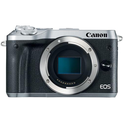 Купить - Canon Canon EOS M6 Body Silver