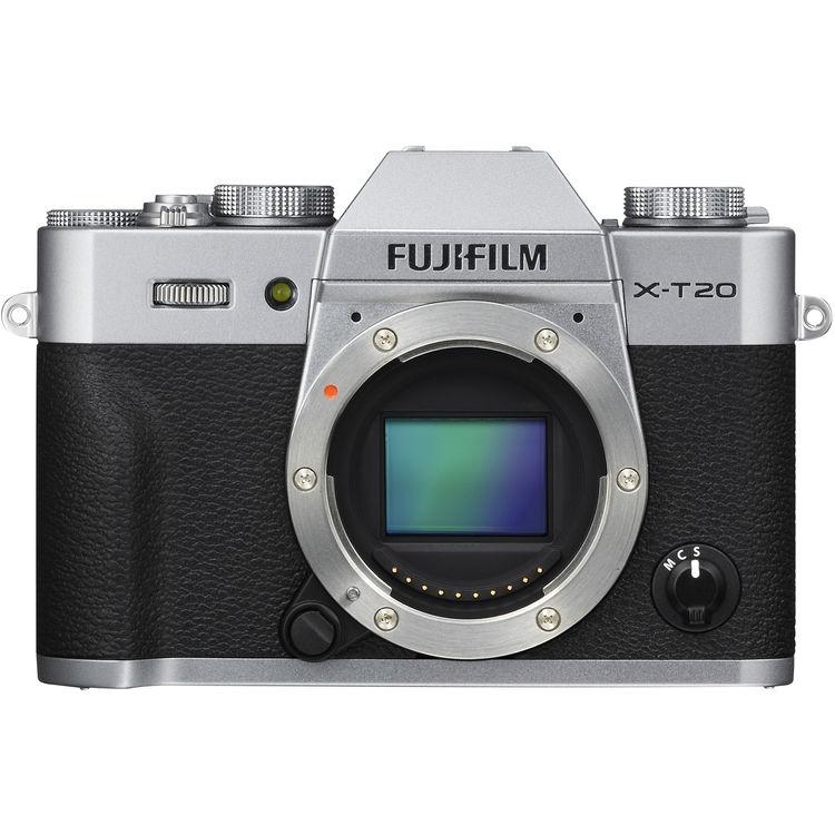 Купить - Fujifilm Fujifilm X-T20 Body Silver  (16542426)