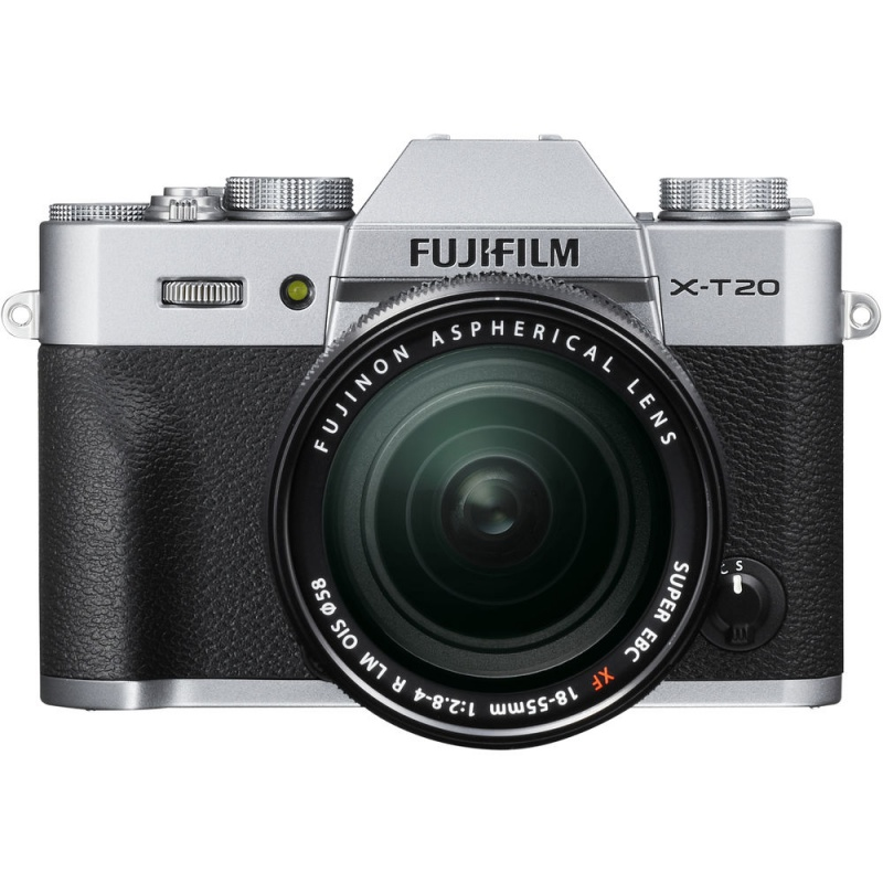 Купить - Fujifilm Fujifilm X-T20 + XF 18-55mm F2.8-4R Kit Silver