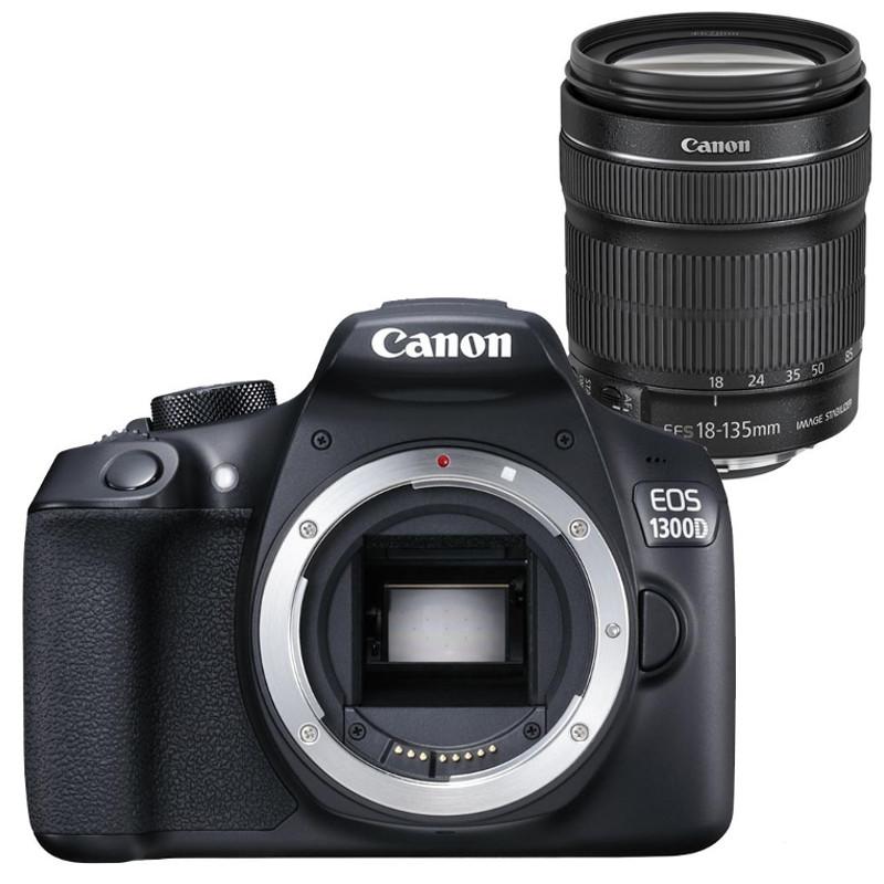Купить - Canon Canon EOS 1300D + EF-S 18-135 IS Kit (Официальная гарантия)
