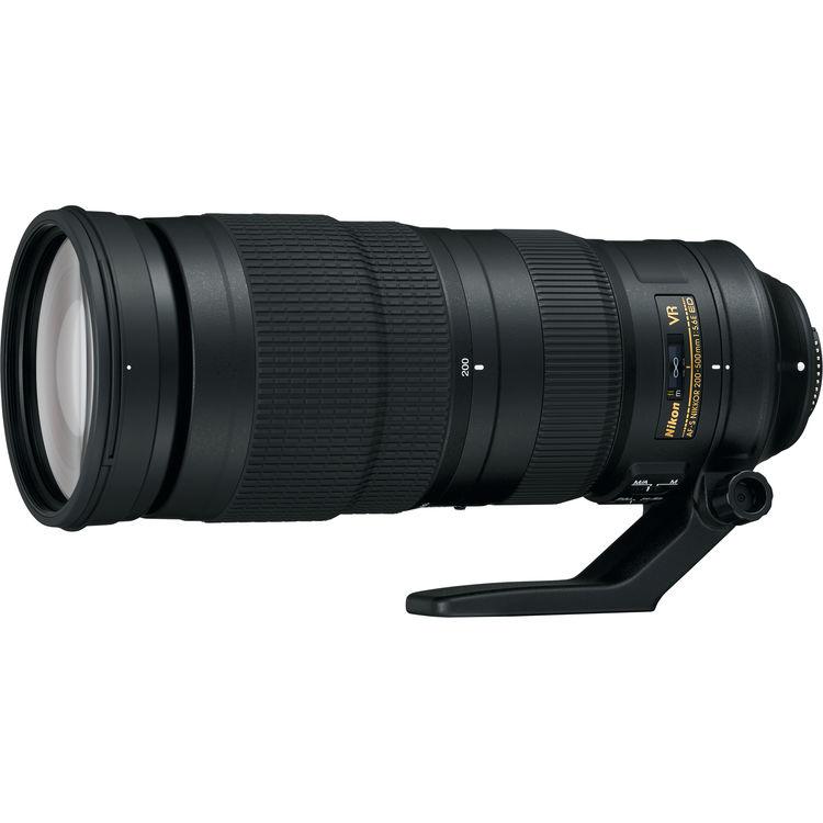Купить - Nikon Объектив Nikon 200-500mm f/5.6E ED AF-S VR (JAA822DA)